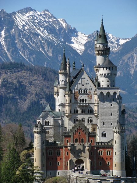 Neuschwanstein Castle near Fussen, Germany
