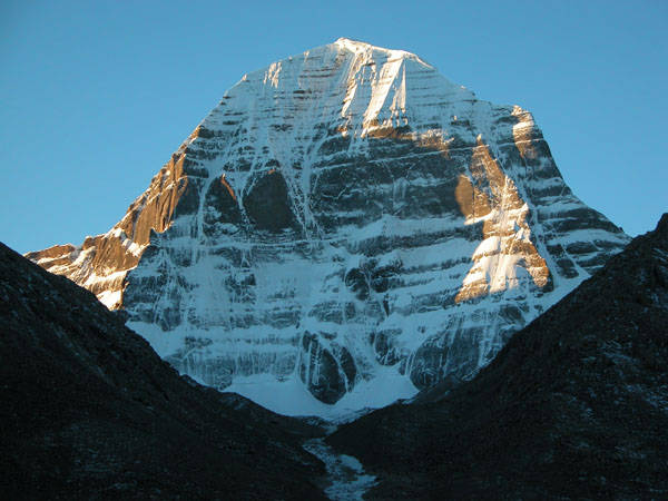 North Face of Mt. Kailash in Western Tibet