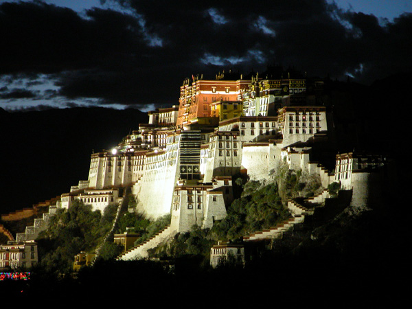 Potala Palace - Former Winter Home of the Dalai Lama