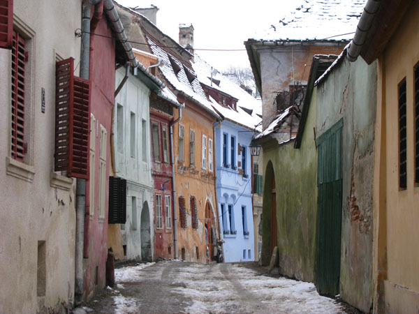 Old Town of Sighisoara, Romania