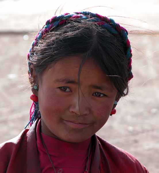Young Girl from Tashi Dzom