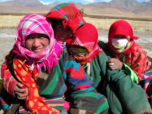 Women on Pilgrimage in Mt. Kailash Region of Tibet