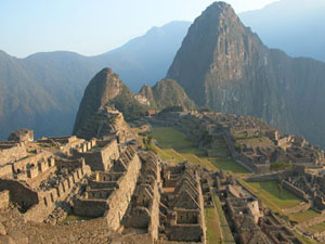 Classic Photo of Machu Picchu