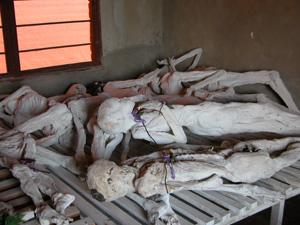 Genocide Memorial at Murambi