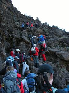 Traffic Jam on Kilimanjaro