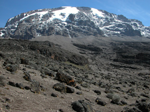 Mt. Kilimanjaro - Highest Point in Africa at 5896 Meters