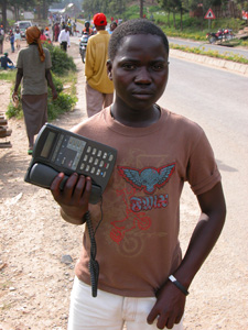 Rwandan Pay Phone