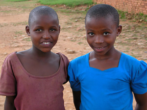 Young Rwandan Girls