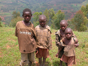 Young Rwandan Boys