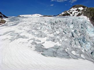 Glacier Above Fjaerland