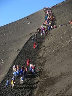 Too Many People on Mt. Fuji