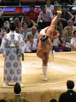One Flexible Sumo Wrestler!
