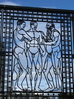 Gate in Vigeland Park