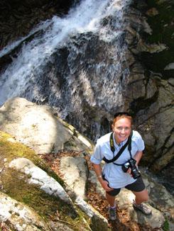 Rhona on Hike near Lake Biwa