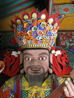 Guardian at Beomeosa Temple, near Busan