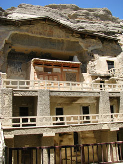 Mogao Caves near Dunhuang