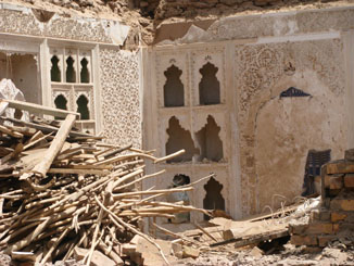 One of Many Beautiful Homes Demolished in Kashgar's Old Town