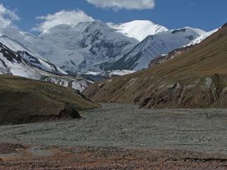 Mountains on Kyrgyzstan/Tajikistan Border