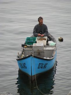 Cleaning the Catch in Nesebar
