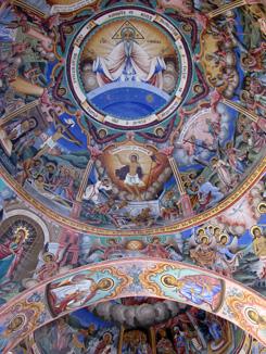 Rila Monastery Mural