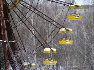 Ferris Wheel in Pripyat - Chernobyl Exclusion Zone
