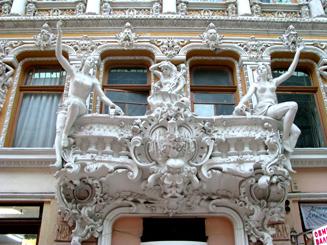 The Passazh, in Odessa