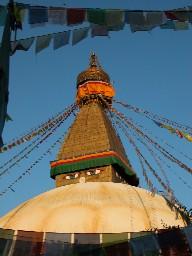Eyes of Buddha - Boudha Stupa