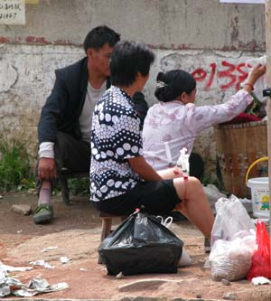 Anshun, China - Roadside Traditional Healing
