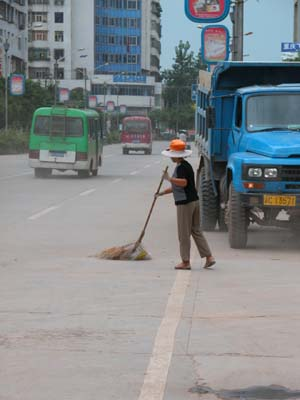 China - Street Sweeper