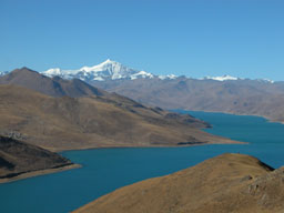 Beautiful Yamdrok Tso
