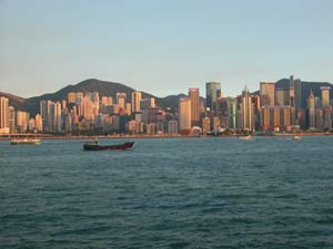 Hong Kong, China - Skyline