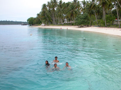 Beautiful Waters off Mansinam Island