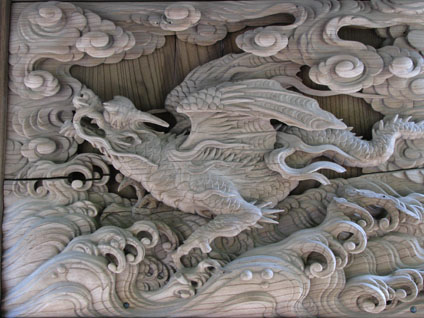 Kamakura, Japan - Engaku Ji Temple Woodwork