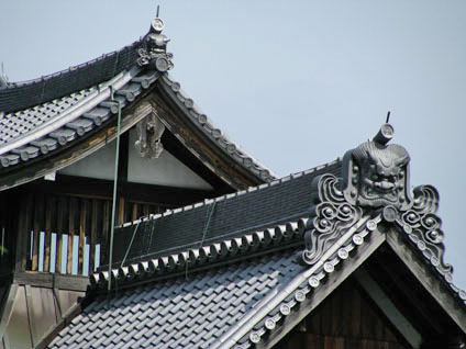 Roof Detail of Tenryu-ji in Kyoto