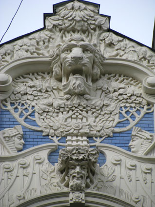 Riga, Latvia - Art Nouveau Architecture