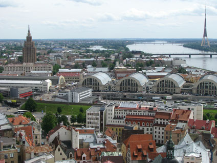 Riga, Latvia - View from St. Peter's Church