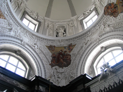 Vilnius, Lithuania - Interior of Cathedral of St. Stanislaus & St. Ladislaus