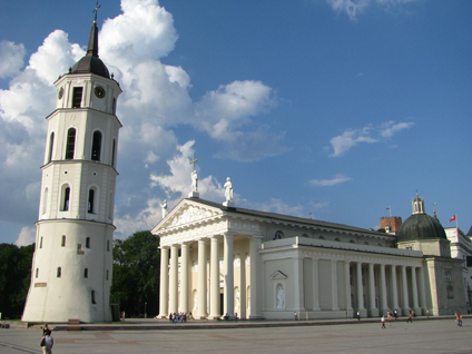 Vilnius, Lithuania - Cathedral of St. Stanislaus & St. Ladislaus