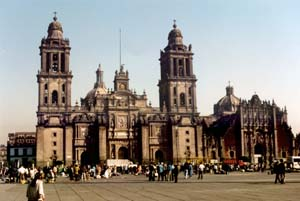 Mexico City, Mexico - Cathedral