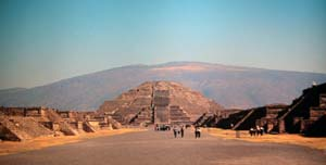 Teotihuacan, Mexico - Pyramid of the Moon