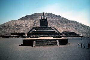 Teotihuacan, Mexico - Pyramid of the Sun