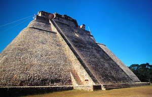 Uxmal, Mexico - Pyramid of the Magician