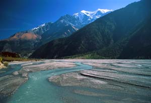 Annapurna Circuit - River Valley