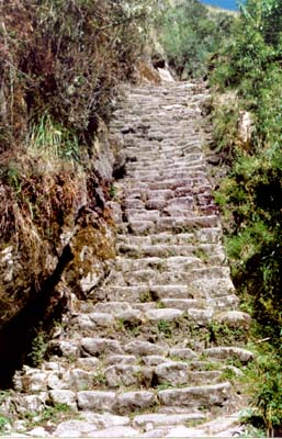 Inca Trail, Peru - Ancient Stairmaster