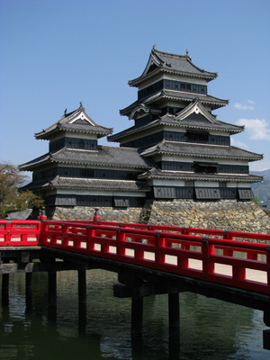 Castle of Matsumoto, Japan