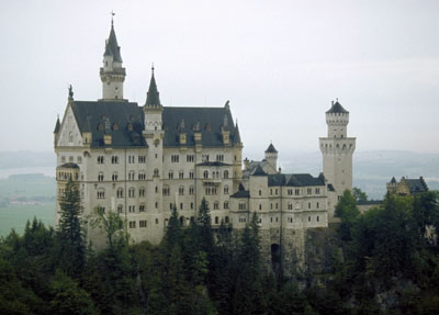 Neuschwanstein - Castle of Mad King Ludwig