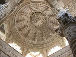 Amazing ceiling at Ranakhpur