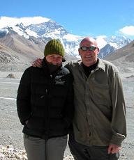 Rhona and I at Everest basecamp