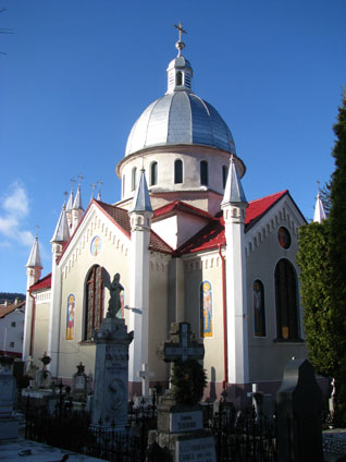 Church in Brasov, Romania