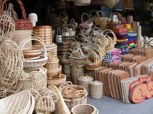 Bangkok, Thailand - Baskets for Sale